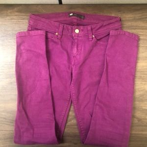 Purple Levi's legging jeans